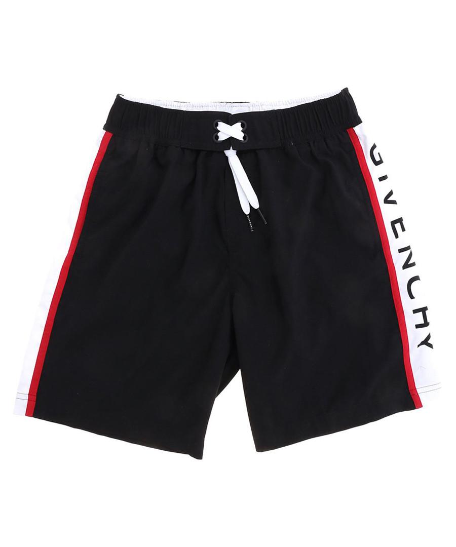 Black logo shorts Sale - givenchy