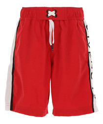 Red logo shorts