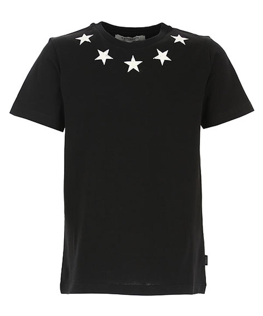 Black pure cotton star T-shirt Sale - givenchy