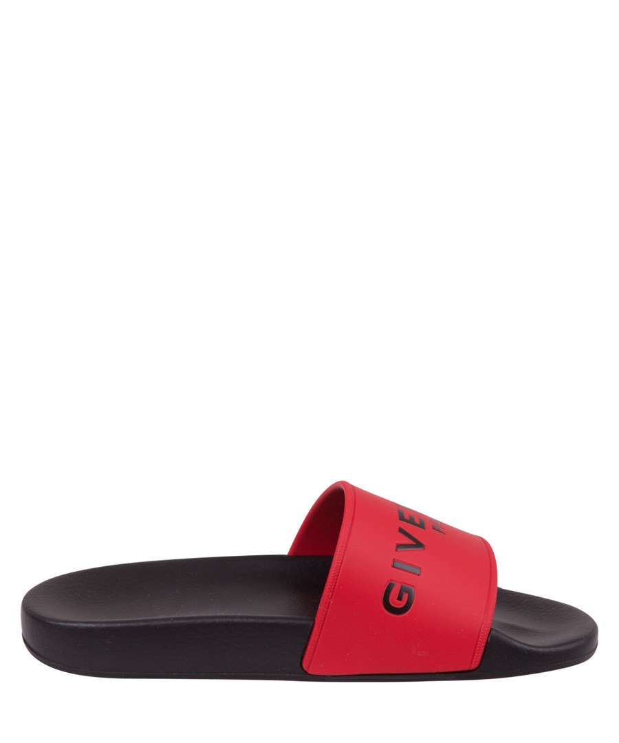 Red logo slip-ons Sale - givenchy