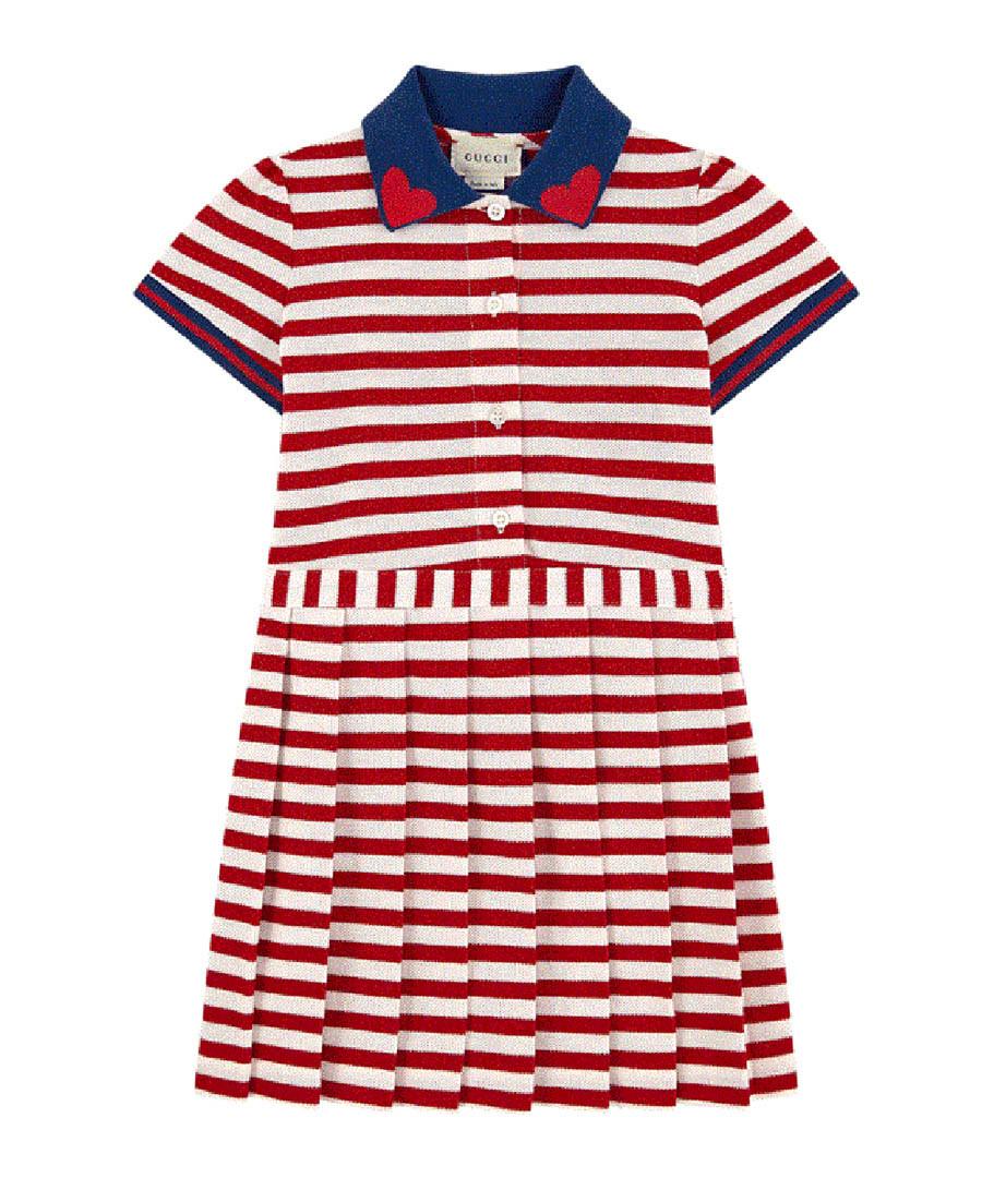 Multi-colour cotton blend stripe dress Sale - gucci