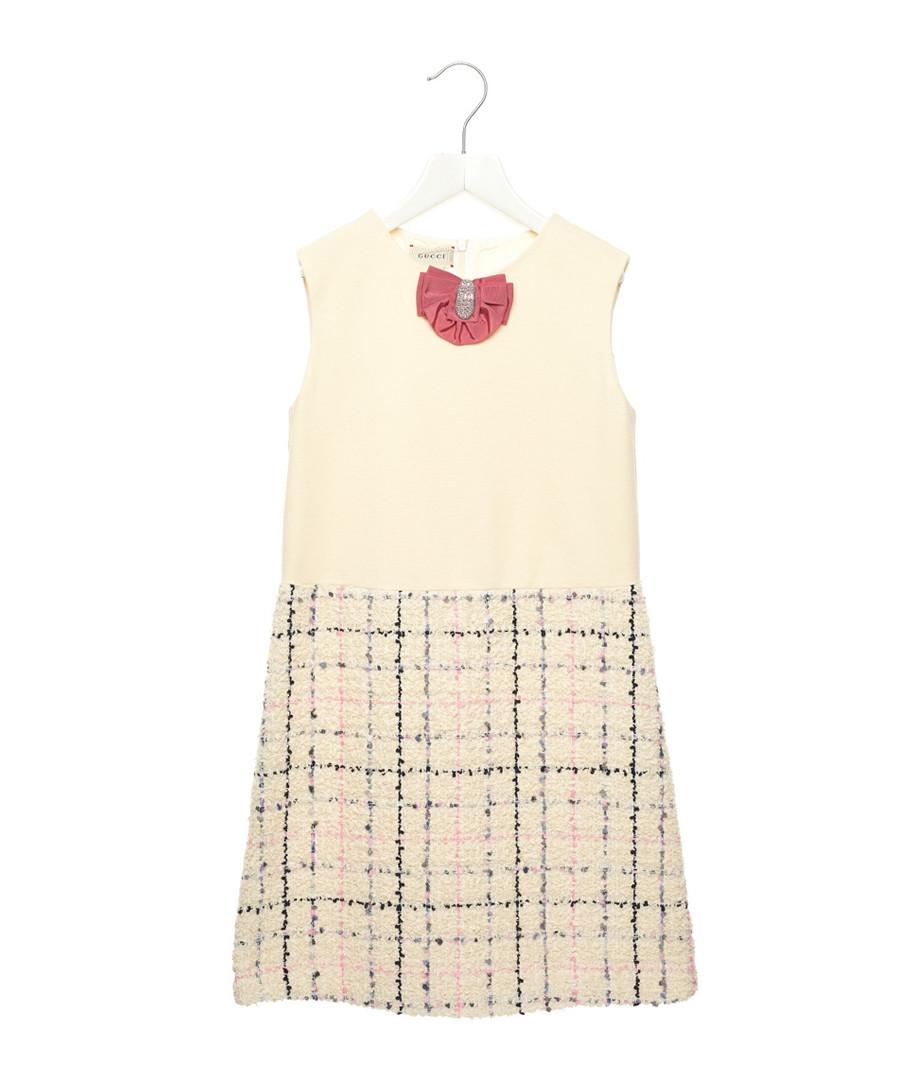 Multi-colour check dress Sale - gucci