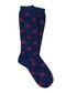Blue cotton blend logo print socks Sale - gucci Sale