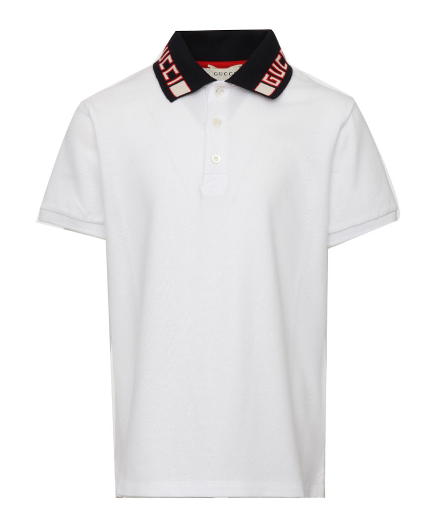 White pure cotton T-shirt Sale - gucci