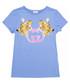Light blue pure cotton logo T-shirt Sale - gucci Sale