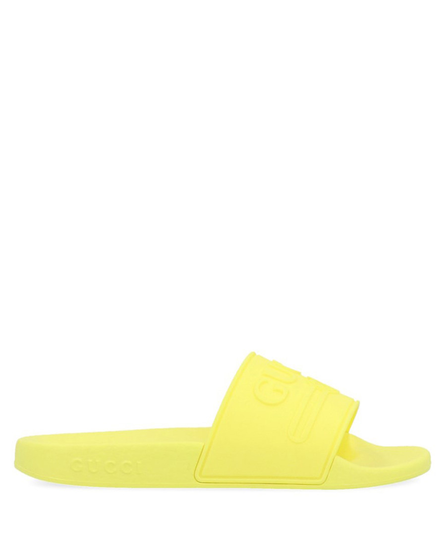 Yellow slip-ons Sale - gucci