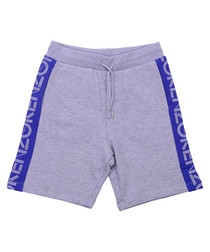 Grey pure cotton shorts