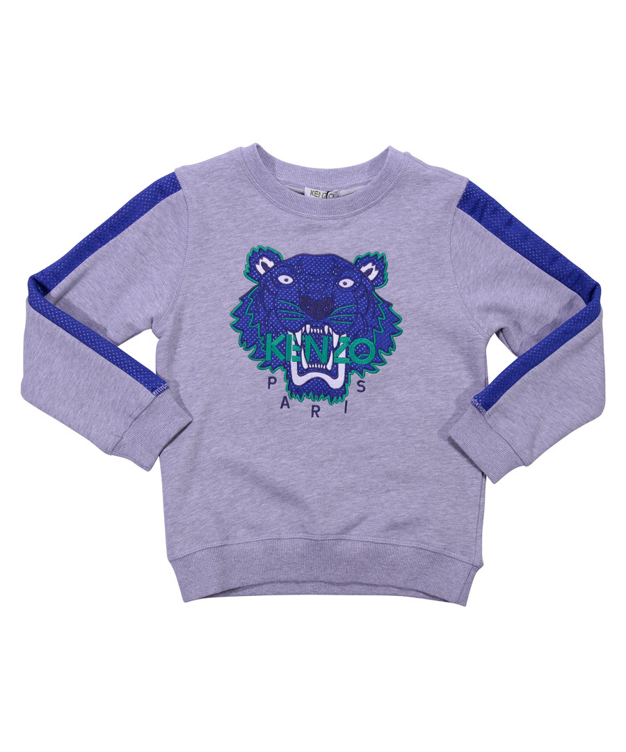 Multi-colour logo print sweatshirt Sale - kenzo kids