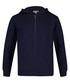Blue pure cotton zip-up hoodie Sale - kenzo kids Sale