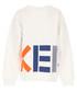 White pure cotton print sweatshirt Sale - kenzo kids Sale