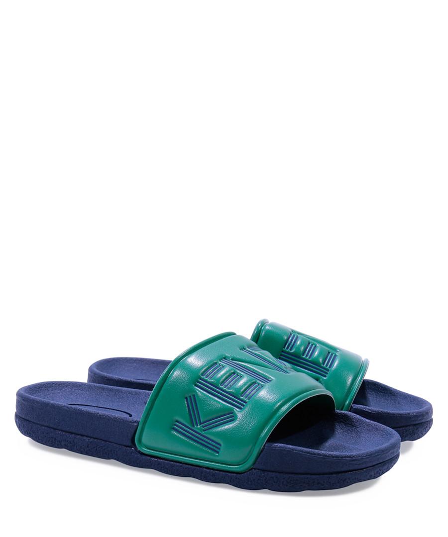 Green casual slip-ons Sale - kenzo kids