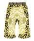 Multi-colour pure cotton print shorts Sale - young versace Sale