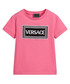 Pink pure cotton logo T-shirt Sale - young versace Sale