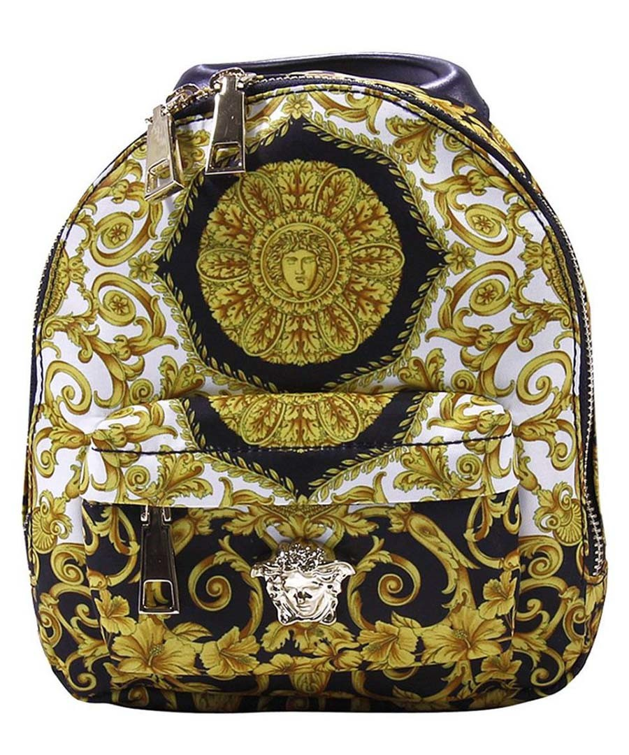Multi-colour printed backpack Sale - young versace