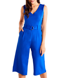 Cobalt D-ring jumpsuit