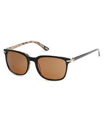 Black & brown lens sunglasses