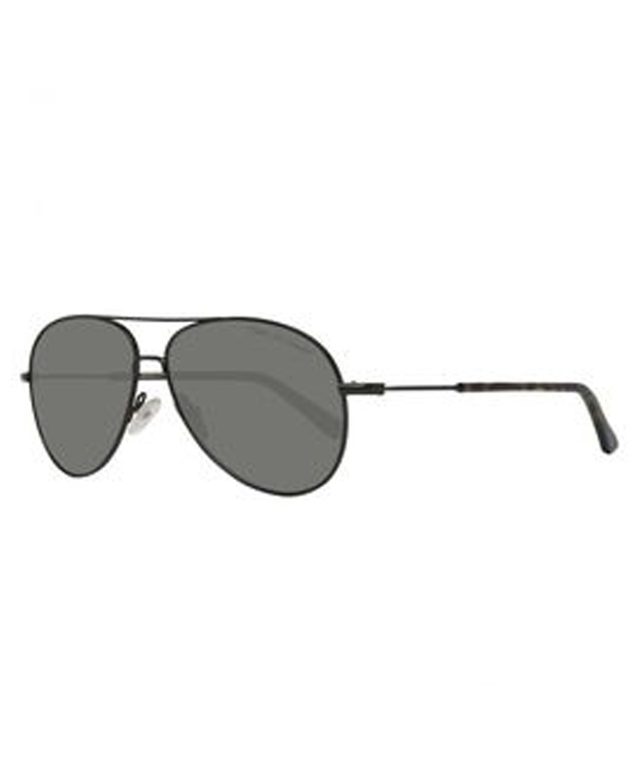 Black & grey aviator sunglasses Sale - gant