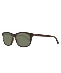 Brown & olive lens sunglasses