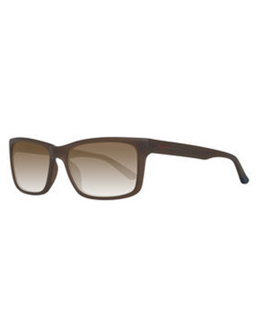Brown rectangular sunglasses Sale - gant