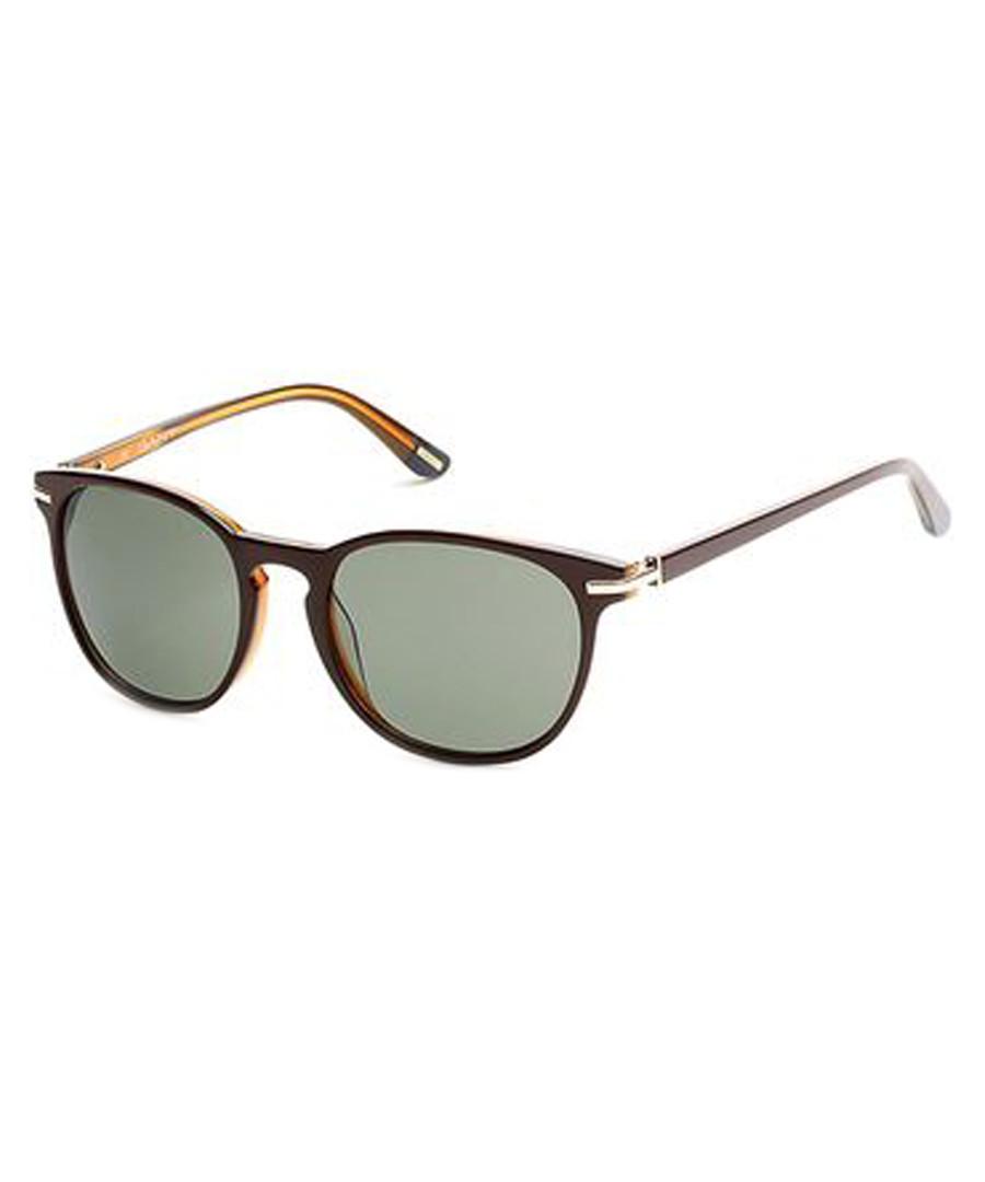 Brown & yellow frame sunglasses Sale - gant