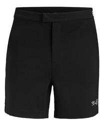 Black beauty logo shorts