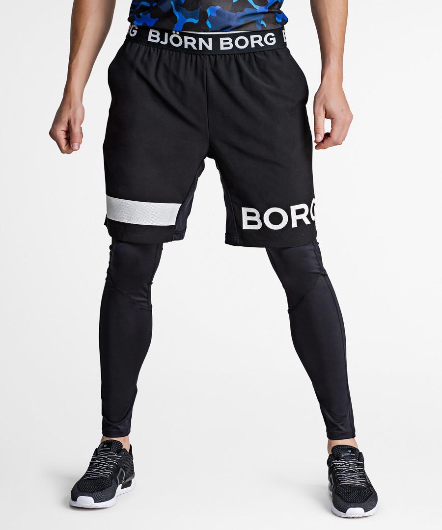 August black beauty logo shorts Sale - Bjorn Borg