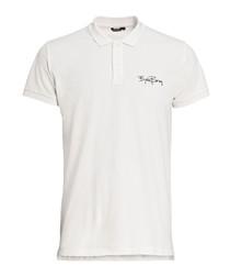 Jet Stream cotton logo polo shirt