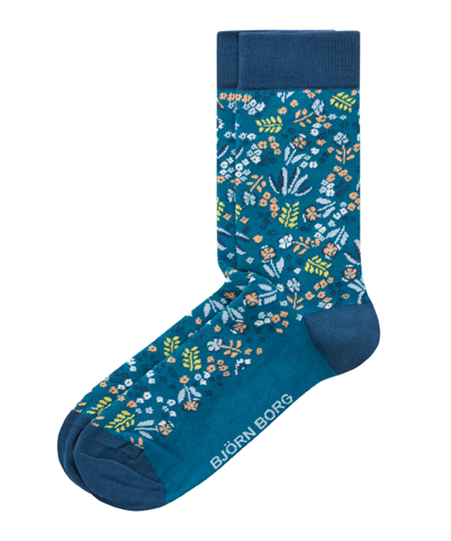 Tiny Flowers corsair print socks Sale - bjorn borg