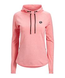 Corinne pink lemonade hoodie