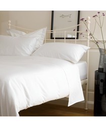 400 Thread Count Fitted Sheet - White