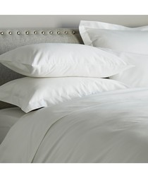 600 Thread Count Fitted Sheet - White
