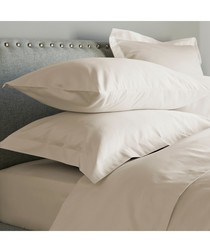 600 Thread Count Fitted Sheet - Ivory