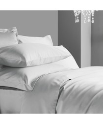 600 Thread Count Fitted Sheet - Ice Grey