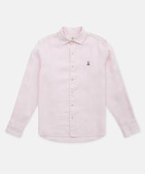 Petal pure cotton button-up shirt