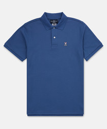 Bermuda blue pure cotton T-shirt