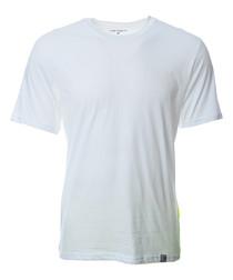 Porter white pure cotton T-shirt