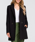 Black two-button longline jacket Sale - made of emotion Sale