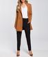 Caramel two-button longline jacket Sale - made of emotion Sale