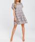 Grey lace short sleeve mini dress Sale - made of emotion Sale
