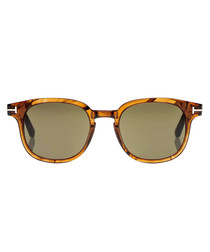 Dark brown & smoke sunglasses