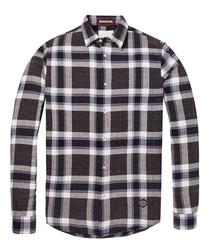 Combo check pure cotton shirt