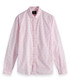 Pale pink print pure cotton shirt Sale - Scotch & Soda Sale