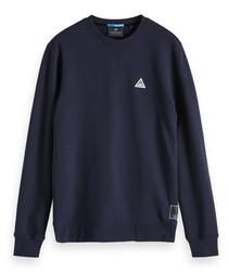 Midnight cotton blend sweatshirt