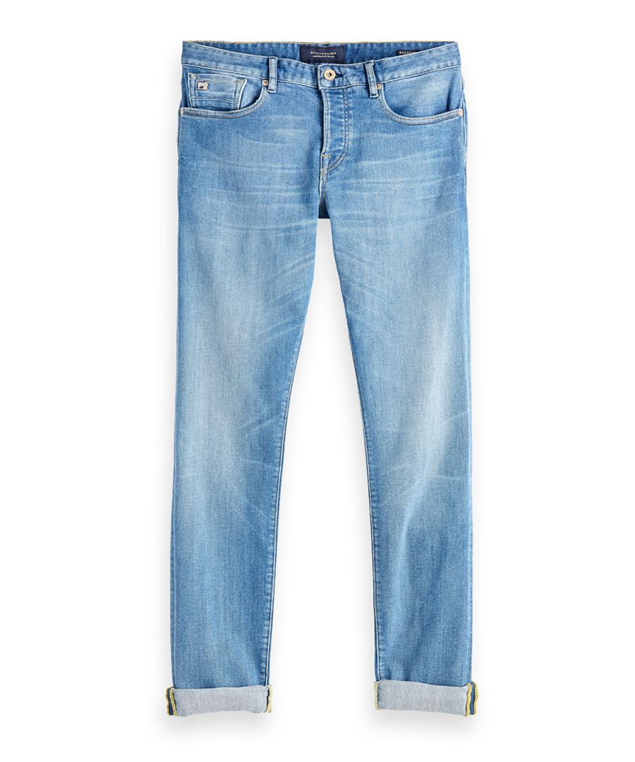 Lucky Blauw light blue cotton jeans Sale - Scotch & Soda