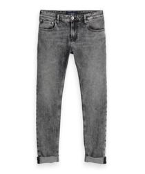 Freezer black washed cotton jeans
