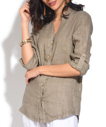 Desert button-up blouse