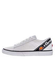 Massimo white logo sneakers
