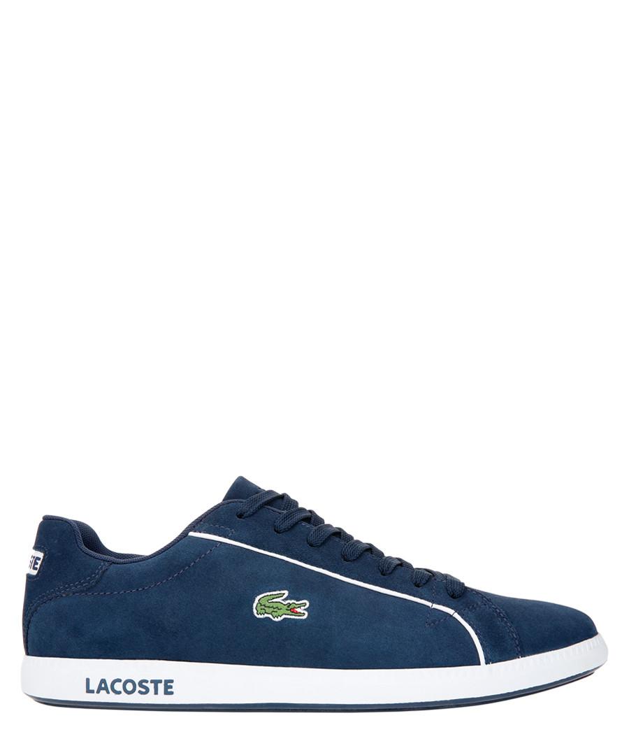 Graduate 219 navy suede sneakers Sale - lacoste