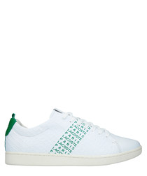 Carnaby Evo 119 white & green sneakers