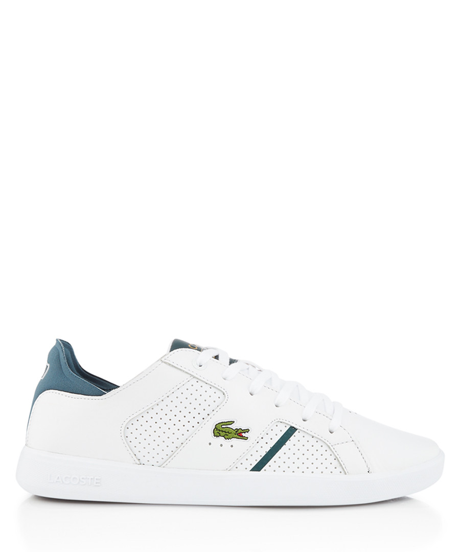 Novas white & green sneakers Sale - lacoste